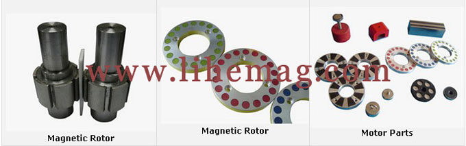 Magnetic Motor Kit Parts